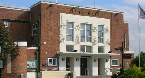 Nantwich Civic Hall staff go DIY to save taxpayers £10,000