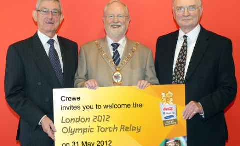 Olympic torch relay to pass through South Cheshire in May