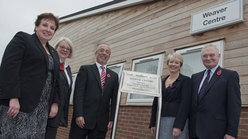 Reaseheath College celebrates new Weaver Centre opening