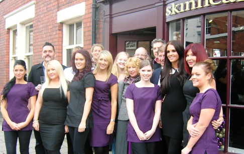 Model Danielle Lloyd opens new Nantwich beauty business
