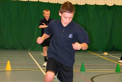 Nantwich pupils take part in college's Sports Inclusion Day