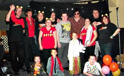 The Cat radio's Children in Need show raises £550
