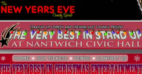 "Nantwich hosts ""Very Best in Stand Up"" New Year's Eve special"
