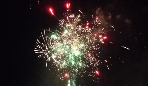 Wistaston Fireworks display celebrated with a bang