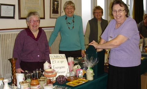 Wistaston Flower Club raises £350 at coffee morning