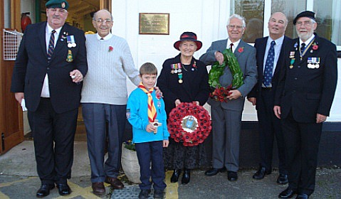 Hundreds attend Wistaston Memorial Hall Remembrance Service