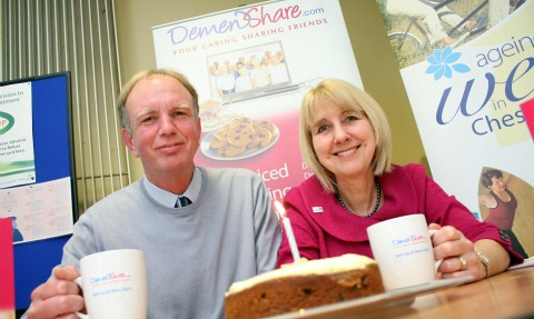 Dementia carers in Nantwich toast health scheme's birthday
