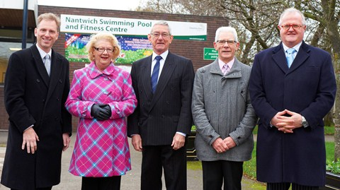 Nantwich councillors visit pool to discuss £1.4million revamp