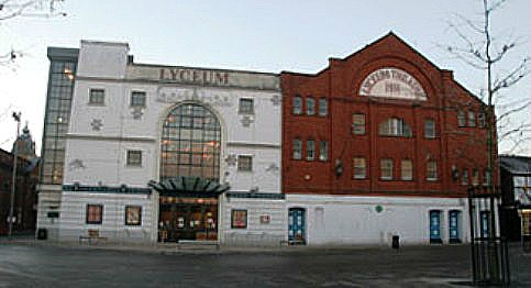Crewe Lyceum Theatre, to stage a wedding fayre, and summer events