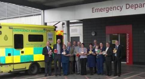 Teddy bear donation for Leighton Hospital children