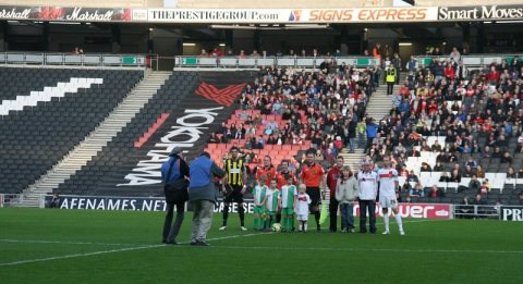 Nantwich Town suffer 6-0 FA Cup defeat at League One MK Dons