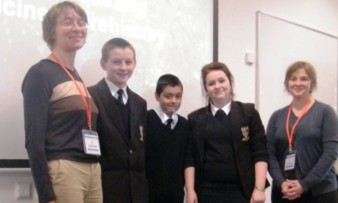 Shavington High pupils enjoy expert archaeology talk