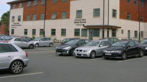 Church View medical centre parking
