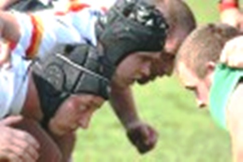 Crewe & Nantwich RUFC scrum - under 16s win Cheshire Shield, beat Walsall