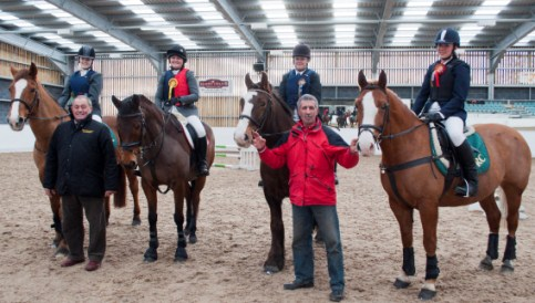 Reaseheath College equine students treated to Christmas show