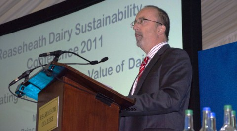 "Reaseheath College boss outlines ""challenges"" at dairy conference"