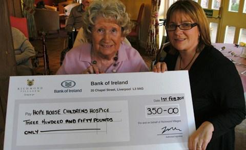 Richmond Village Nantwich raise more than £4,000