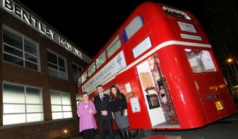 St Luke's Cheshire Hospice celebrates 100 Club launch at Bentley