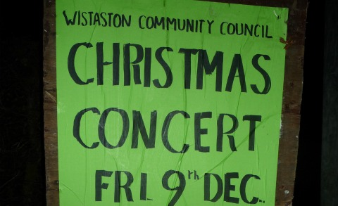 Wistaston Community Council to stage Christmas concert