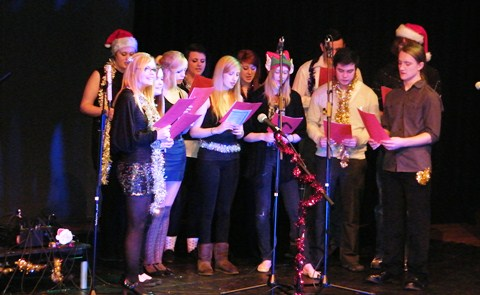 Crewe and Nantwich students stage Christmas spectacular
