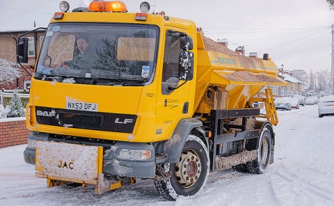 """Cheshire East Council """"ready"""" as winter snow heads for region"""