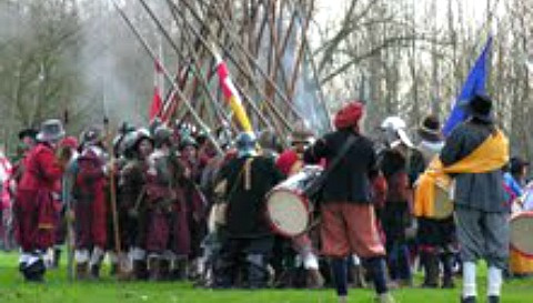"Holly Holy Day Society's ""Battle of Nantwich"" plans all set"