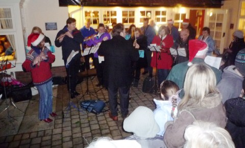 Stapeley Christmas Carol service proves big hit with families