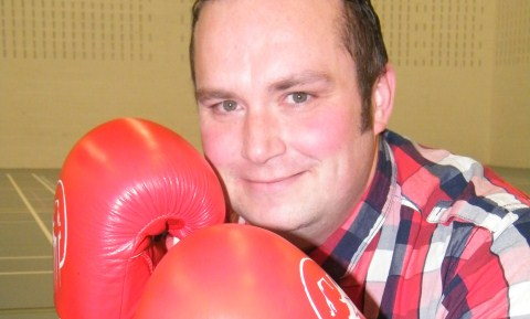College dad ready for charity fight at Nantwich nightclub