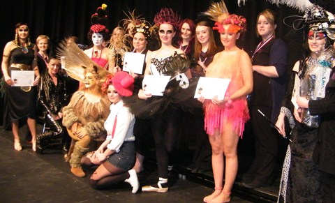 South Cheshire College students enjoy hair-raising contest