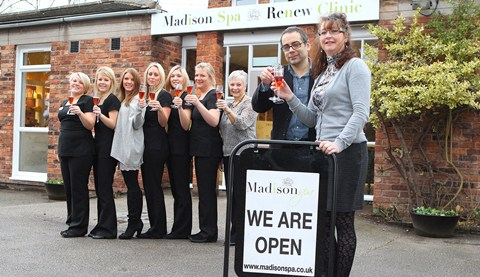 Nantwich beauty clinic Madison Spa transforms old medical centre