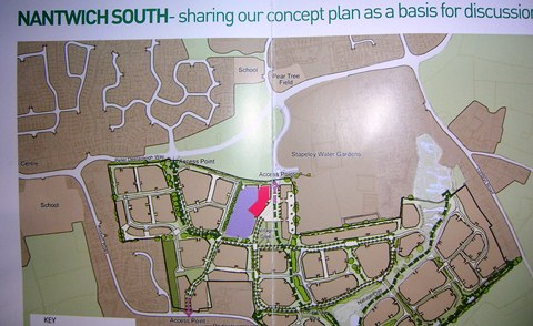Muller and Jones Homes unveils 'Nantwich South' community plan