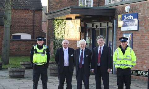 Nantwich police station powered by new solar panels