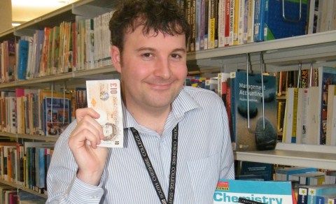 South Cheshire College library launches fine-free book amnesty