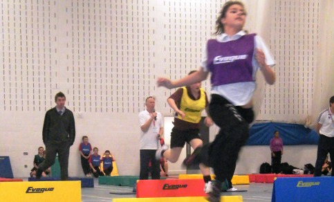 Nantwich primary schools shine at sportshall athletics final