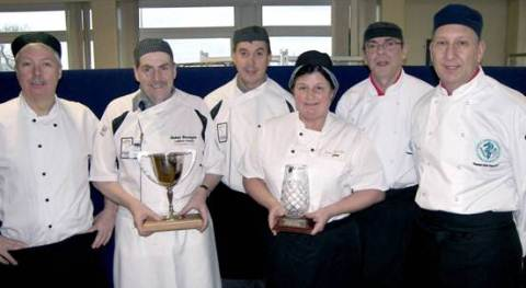 Leighton Hospital chefs in national cooking final