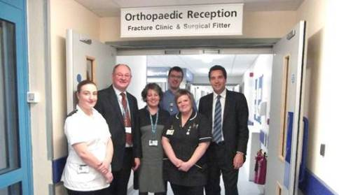 Nantwich patients to benefit from new orthopaedic dept at Leighton Hospital