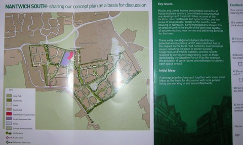 Green campaigners criticise Stapeley and Nantwich housing plans