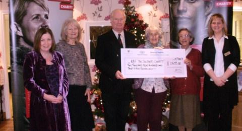 Richmond Village Nantwich ball raises £2,400 for Soldiers Charity