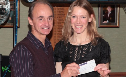 South Cheshire Harriers raise £2,300 for Age UK Cheshire
