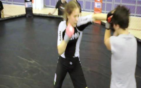 Young Nantwich woman to compete in female cage fighting bout