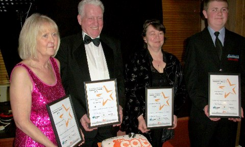 The Cat Community Award winners unveiled at Nantwich ceremony
