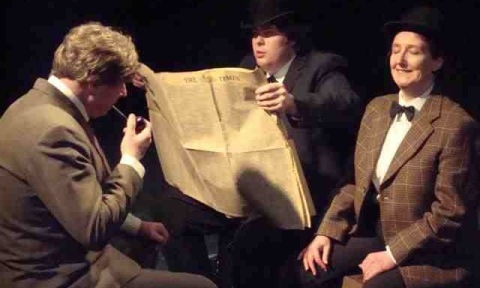 "REVIEW: Nantwich Players latest show ""The 39 Steps"""