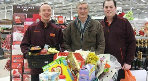 Nantwich Sainsbury's joins United Churches of Crewe to help homeless