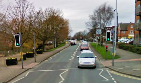 Angry Nantwich mum blasts van driver after crossing horror