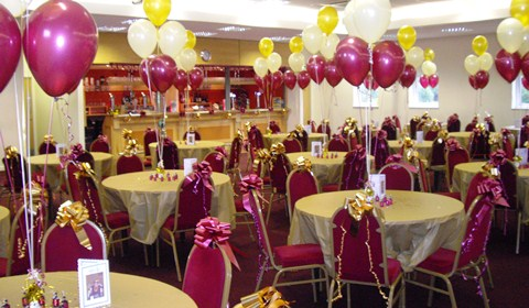 Christmas party fun at Weaver Stadium in Nantwich