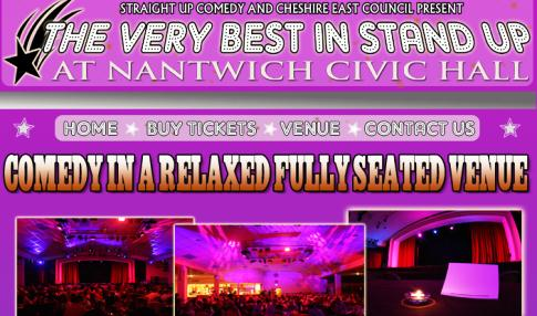 REVIEW: Very Best in Standup, Nantwich Civic Hall