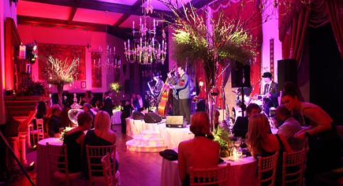 Peckforton Castle party celebrates venue's relaunch