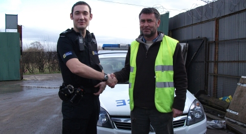 Nantwich scrap dealers join police crackdown on metal thieves