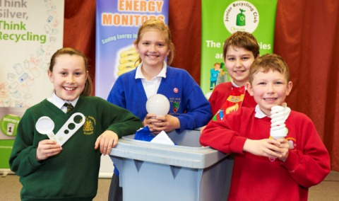 Nantwich recycling youngsters undergo Cheshire East training