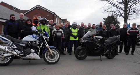 South Cheshire motorbike groups team up for St Luke's Hospice ride
